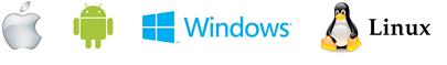 Logo-Windows-Aple-Android-Linux